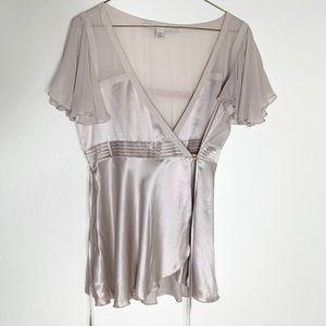 Stella McCartney for H&M Silk Tie Blouse M